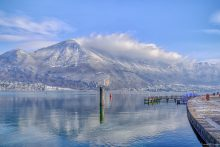 BGP A winter's day at Lake Annecy in France