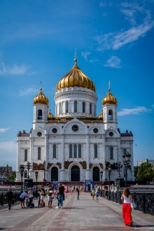 BGP The Cathedral of Christ the Saviour,  Moscow, Russia