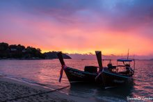 BGP Sunset over Ko Lipe Island, Thailand