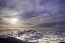 BG  Sunset over Mt Teide, Tenerife