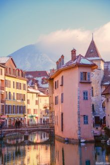 BGP Medieval building in Annecy, France