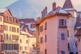 BGP Medieval buildings in Annecy, France