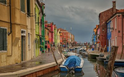 A rainy afternoon in Burano