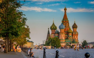 The delights of Red Square, Moscow